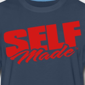 SELF MADE T-Shirts - Men's Premium Long Sleeve T-Shirt