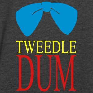 tweedle dum Tanks - Men's V-Neck T-Shirt by Canvas