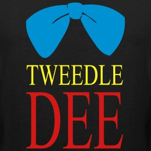 tweedle du Hoodies - Men's Premium Tank