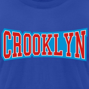 CROOKLYN Hoodies - Men's T-Shirt by American Apparel