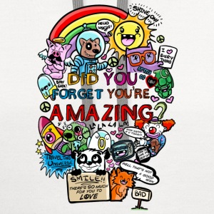 You are amazing Kids' Shirts - Contrast Hoodie