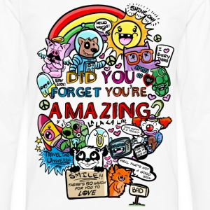 You are amazing Kids' Shirts - Men's Premium Long Sleeve T-Shirt