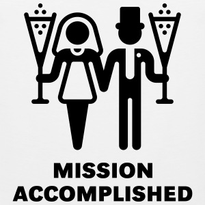 Mission Accomplished (Wedding / Marriage) - Men's Premium Tank