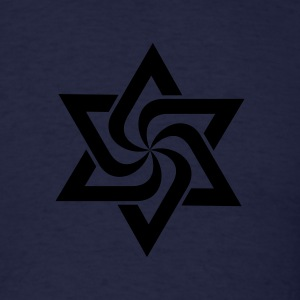 Raelian Star Symbol 1c Long Sleeve Shirts - Men's T-Shirt
