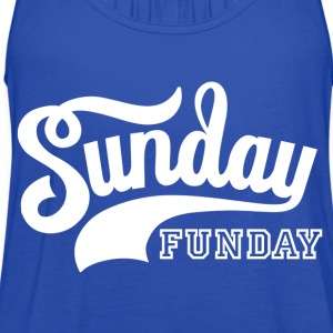Sunday Funday T-Shirts - Women's Flowy Tank Top by Bella