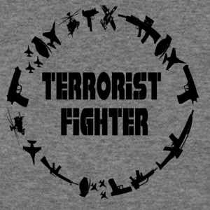 Terrorist Fighter - Women's Wideneck Sweatshirt
