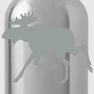 Moose 4 (Powder Blue) - Water Bottle