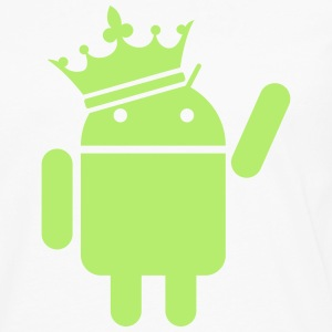 Android the king Hoodies - Men's Premium Long Sleeve T-Shirt