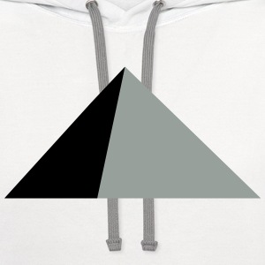 pyramid T-Shirts - Contrast Hoodie