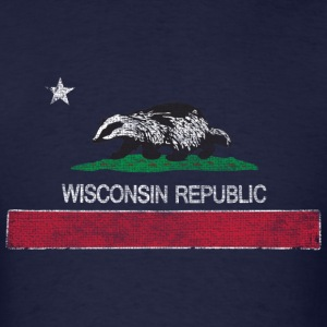 Wisconsin Republic Milwaukee Mart Sweatshirts - Men's T-Shirt