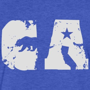 CA Bear Shirt Diego Sweatshirts - Fitted Cotton/Poly T-Shirt by Next Level
