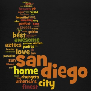 San Diego Words Shirt Diego Sweatshirts - Toddler Premium T-Shirt