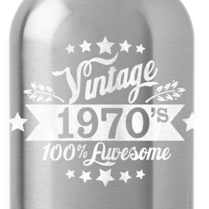 vintage 70s T-Shirts - Water Bottle