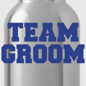 Team Groom T-Shirts - Water Bottle