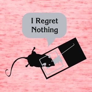 I Regret Nothing T-Shirts - Women's Flowy Tank Top by Bella