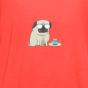 tea time for Mr Pug T-Shirts - Women's Flowy Tank Top by Bella
