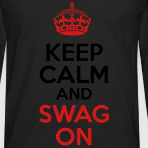 KCCO - Keep Calm and Swag On T-Shirts - Men's Premium Long Sleeve T-Shirt
