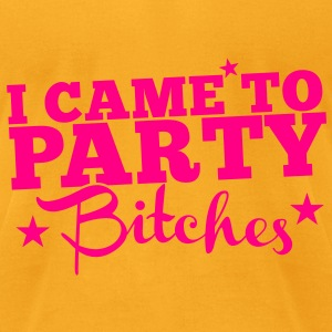 I CAME TO PARTY BITCHES! nsfw Bags & backpacks - Men's T-Shirt by American Apparel
