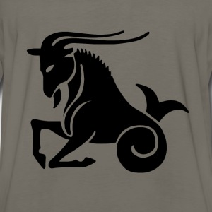 Capricorn Zodiac Sign T-shirt - Capricorn Symbol G - Men's Premium Long Sleeve T-Shirt