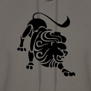 Leo Zodiac Sign T-shirt - Leo Symbol Lion - Men's Hoodie