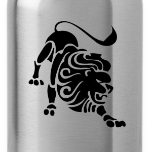 Leo Zodiac Sign T-shirt - Leo Symbol Lion - Water Bottle