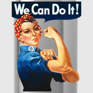 We Can Do It! Women's T-Shirts - Water Bottle