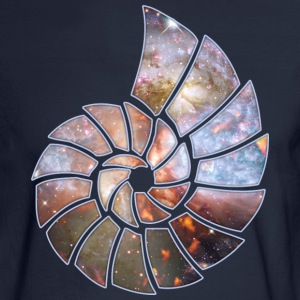 Cosmic Spiral Hoodies - Men's Long Sleeve T-Shirt