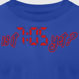 Is it 7:05 yet? Tanks - Men's T-Shirt by American Apparel