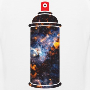 Cosmic Spray Paint Hoodies - Men's Premium Tank