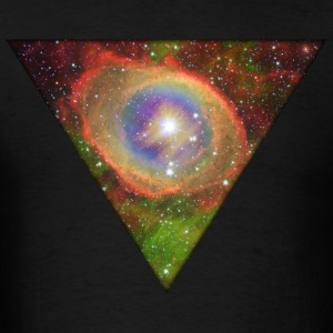 Cosmic Triangle Hoodies - Men's T-Shirt