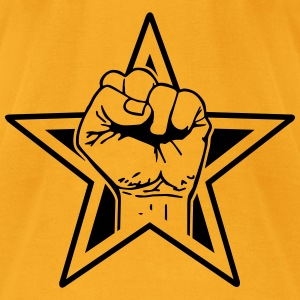star fist Bags  - Men's T-Shirt by American Apparel