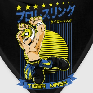 Tiger Mask Women's T-Shirts - Bandana