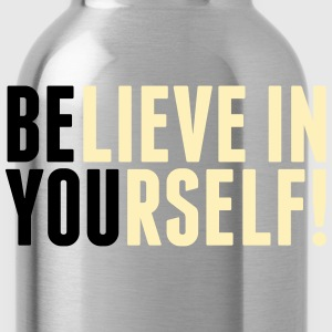 believe in yourself - be you Hoodies - Water Bottle