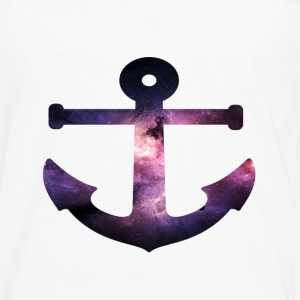 Galaxy Anchor Hoodies - Men's Premium Long Sleeve T-Shirt