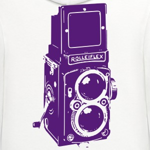 Camera T-Shirts - Contrast Hoodie