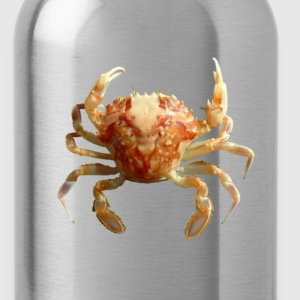 Crab on T - Water Bottle