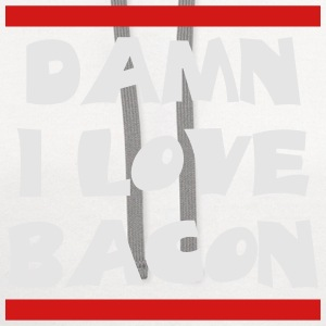 love_bacon Women's T-Shirts - Contrast Hoodie