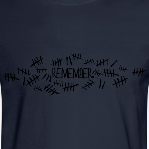 Doctor Who Remember Tally Marks Women's T-Shirts - Men's Long Sleeve T-Shirt