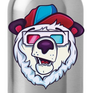 Ice cold polar bear Hoodies - Water Bottle