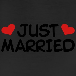 Just Married Wedding T-Shirts - Leggings