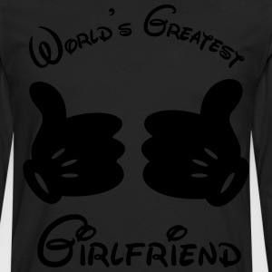 World's Greatest Girlfriend - Men's Premium Long Sleeve T-Shirt