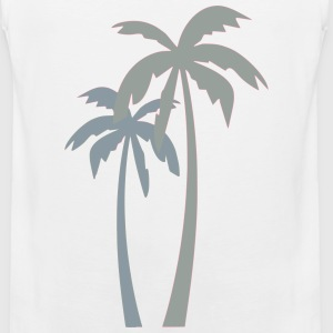 Palm Trees T-Shirts - Men's Premium Tank
