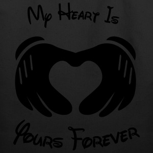 My heart is yours forever - Eco-Friendly Cotton Tote