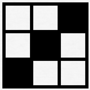 noughts and crosses grid with filled in squares Accessories - Men's T-Shirt