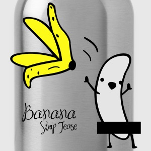 banana striptease - Water Bottle