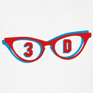 3D glasses in 3D Accessories - Men's T-Shirt