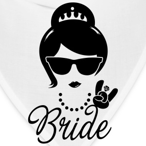 Bride Wedding Marriage Stag do Hen night party Women's T-Shirts - Bandana