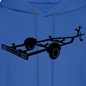 boat transport trailer_r1eps T-Shirts - Men's Hoodie