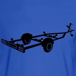 boat transport trailer_r1eps T-Shirts - Men's Long Sleeve T-Shirt