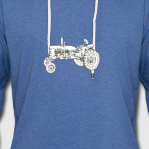 farm tractor  T-Shirts - Unisex Lightweight Terry Hoodie